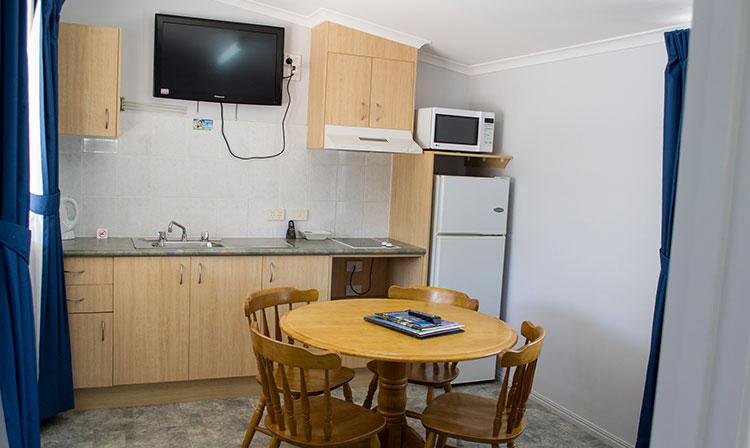 Kahlers Oasis Caravan Park Unit 4 berth kitchen HERO