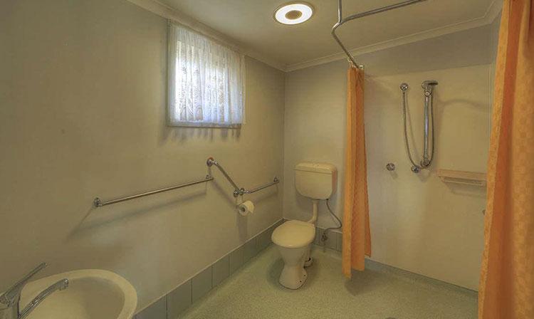special needs unit bathroom