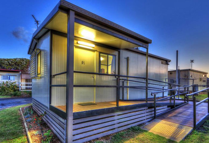 BIG4 Toowomba Cottage 3 Berth Disability Assist Exterior