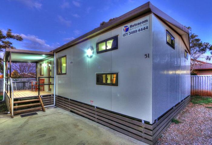 BIG4 Toowoomba 3 Bedroom 10 Berth Exterior
