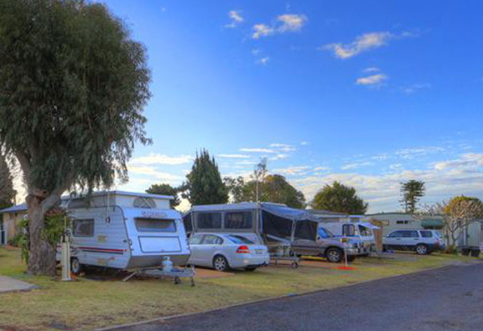 BIG4 Toowoomba GC Holiday Park Powered Sites