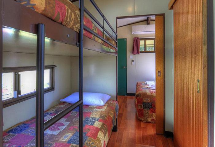 BIG4 Toowoomba Garden City 1 Bedroom 4 Berth Cabin Bunks
