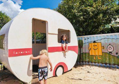 Toowoomba kids playground caravan
